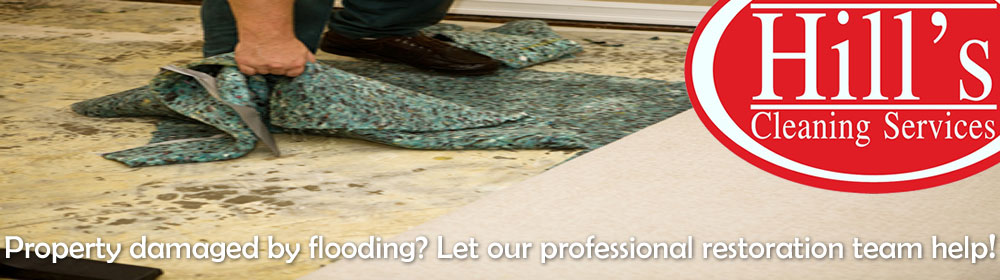 Flood damage & restoration specialists - Hills Cleaning Services